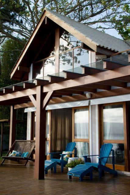 Modelos de chal s 41 projetos e plantas gr tis - Fotos de lofts decorados ...