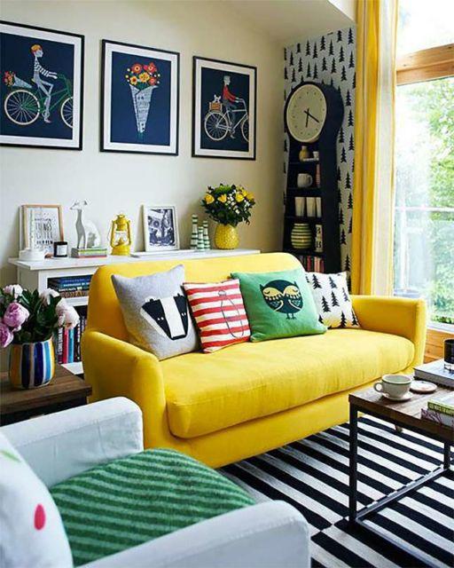 modelos-de-sofa-colorido