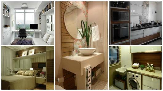 M veis planejados para apartamentos pequenos dicas for Acabados para apartamentos pequenos
