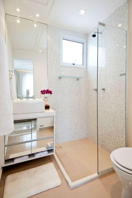 Móveis planejados para apartamentos pequenos dicas! -> Banheiro Pequeno Moveis