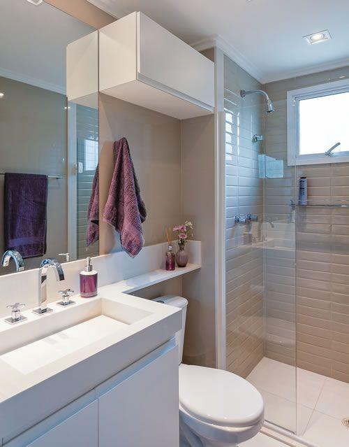 Móveis planejados para apartamentos pequenos dicas! -> Banheiro Planejado Para Apartamento Pequeno