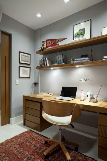 móveis planejados escritório em casa