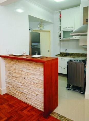 cozinha americana com balcão