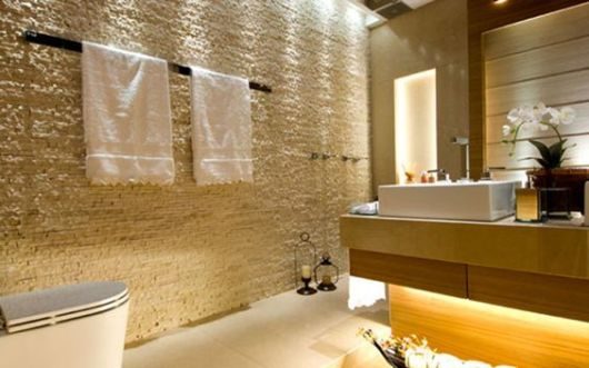 pedra São Tomé banheiro