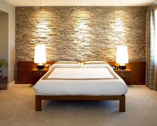 quarto com pedras