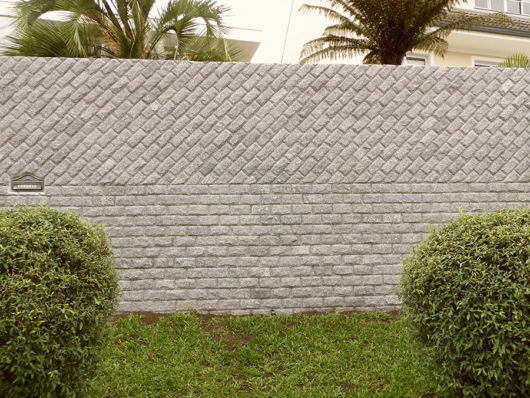 pedra almofadada