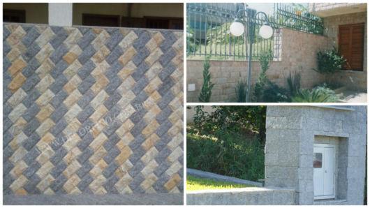 muros com pedras