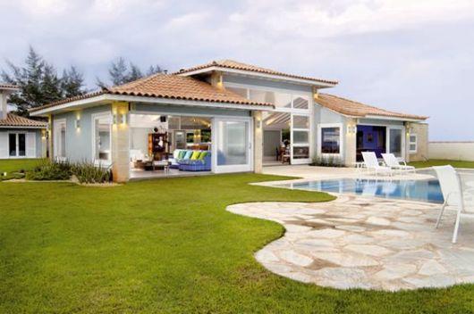 Pedra s o tom guia completo com dicas e fotos de projetos for 30 fachadas de casas modernas dos sonhos