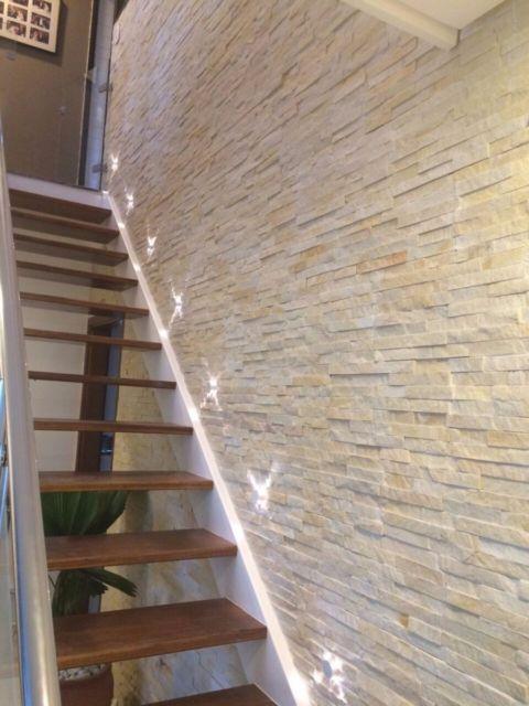 parede escada decorada