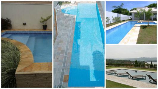 piso para piscina