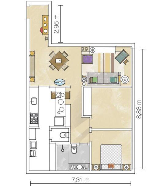 planta-apartamento-pequeno