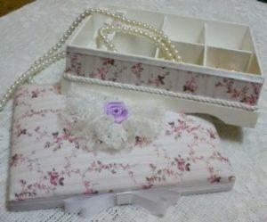 fotos de Porta joias de tecido