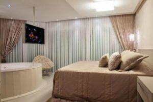 como fazer quarto com banheira integrada