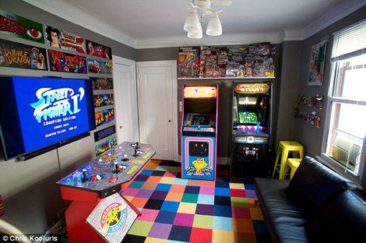 Quarto gamer como fazer dicas projetos e de 50 ideias for 80 s apartment design