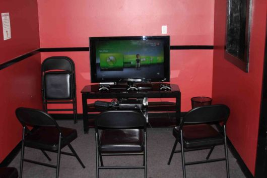 Red Game Room Ideas