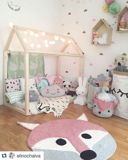 Kids playroom paint ideas - Quarto Montessoriano O Que 233 Como Fazer 30 Inspira 231 245 Es