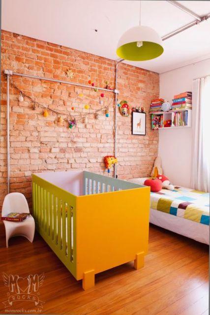 quarto bebê moderno
