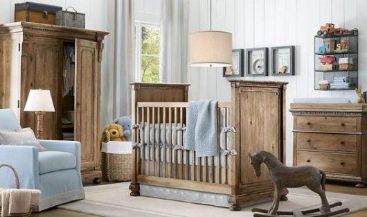 móveis rústicos bebê
