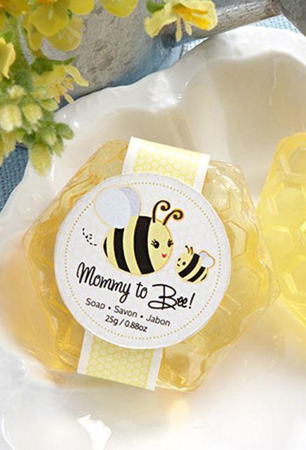 sabonetes decorados adesivo abelha