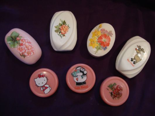 sabonetes decorados adesivos