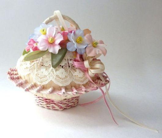 sabonetes decorados cestinha