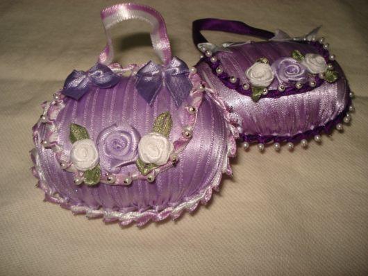 sabonetes decorados cetim