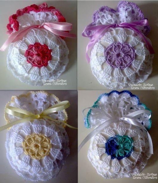 sabonetes decorados crochê modelos