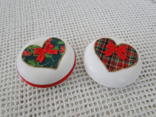sabonetes decorados tecidos