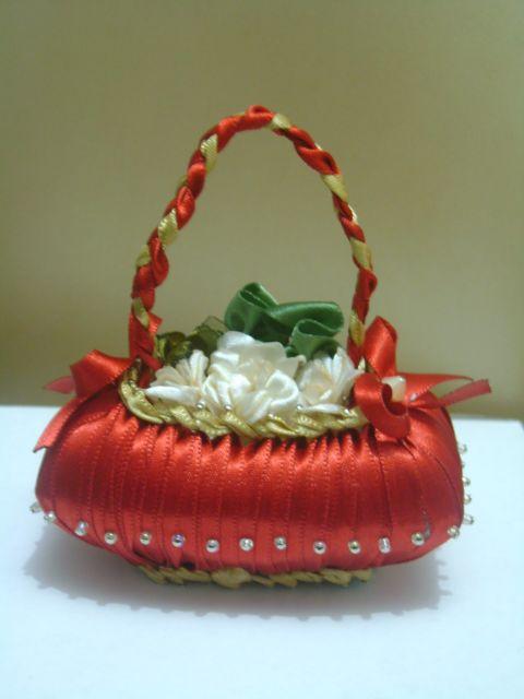 sabonetes decorados vermelho
