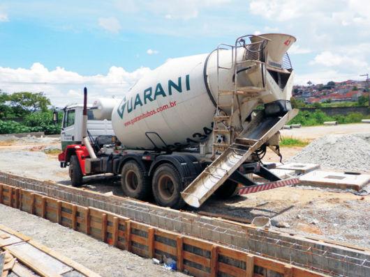 caminhão de concreto