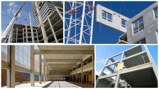 concreto pré-fabricado