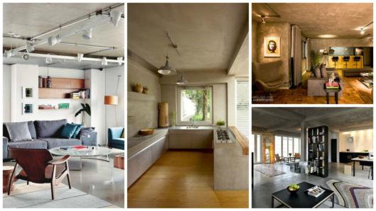projetos cimento/ concreto aparente