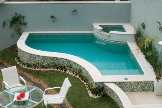 Rea de lazer com piscina dicas plantas gr tis e de 30 for Limpiafondos para piscinas pequenas
