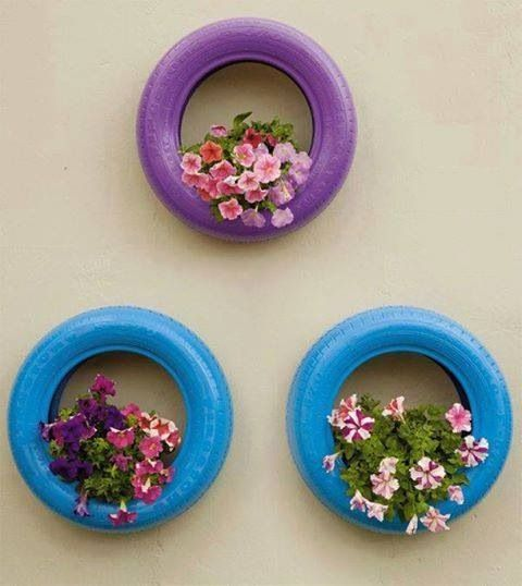 vasos-para-jardim-pneu-pendurado-colorido