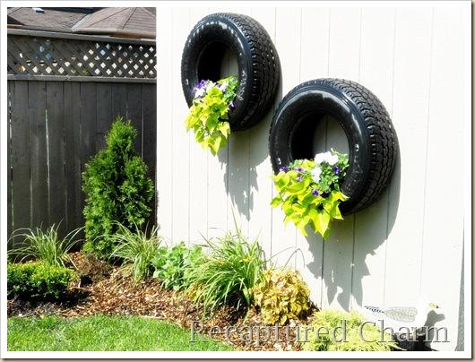 vasos-para-jardim-pneu-pendurado-flores