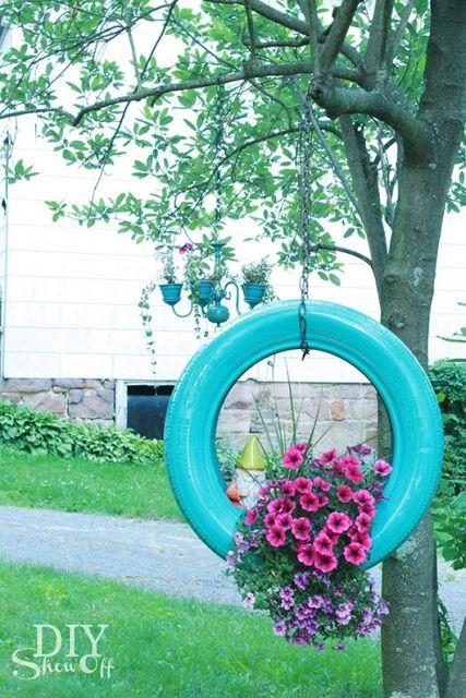 vasos-para-jardim-pneu-pendurado