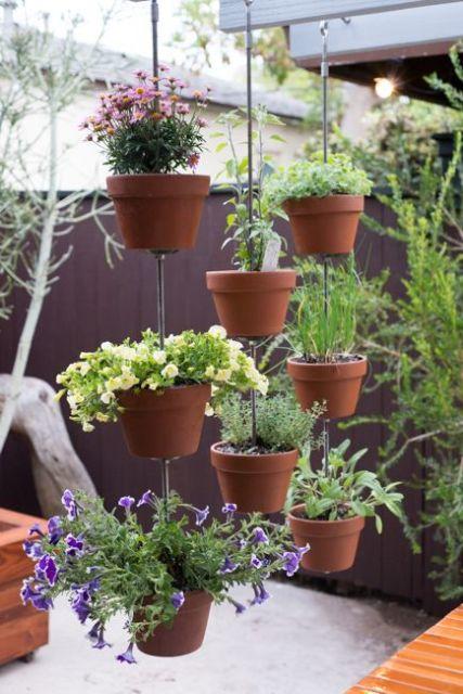 vasos-para-jardim-vertical-de-barro-pequenos