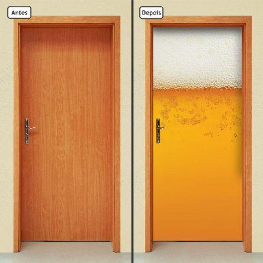 Adesivo cerveja