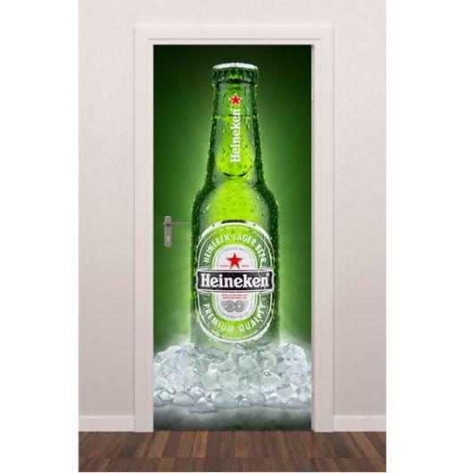 Porta decorada cerveja