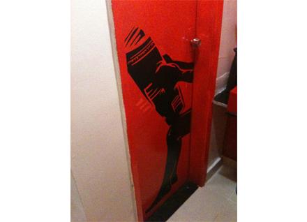Ideia adesivo banheiro
