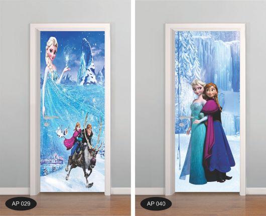 Modelos adesivo Frozen