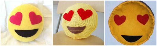 modelos emoji apaixonado