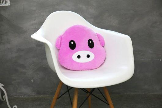 emoticon porco
