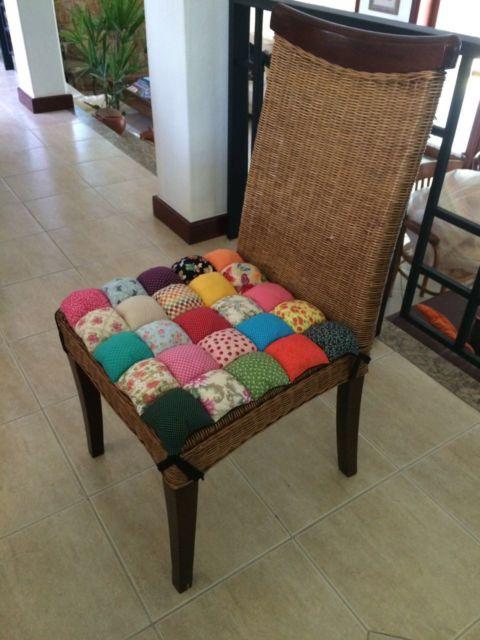 cadeiras de fibra artificial