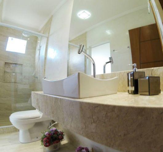 Banheiro bege combinações de cores e 52 fotos de ambientes lindos! -> Pia Banheiro Bege Bahia
