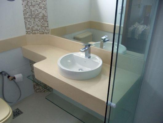 Banheiro bege combinações de cores e 52 fotos de ambientes lindos! -> Nicho Banheiro Bege Bahia