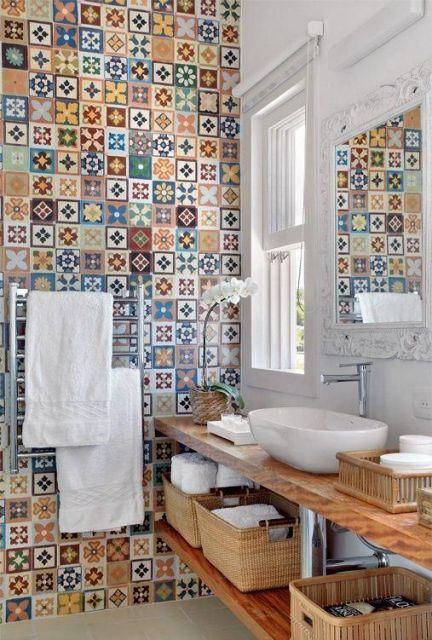 banheiro-rustico-com-ladrilho