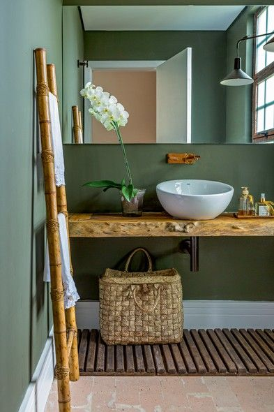 banheiro-verde-e-bege