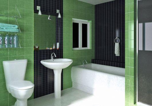 banheiro-verde-preto-ideias