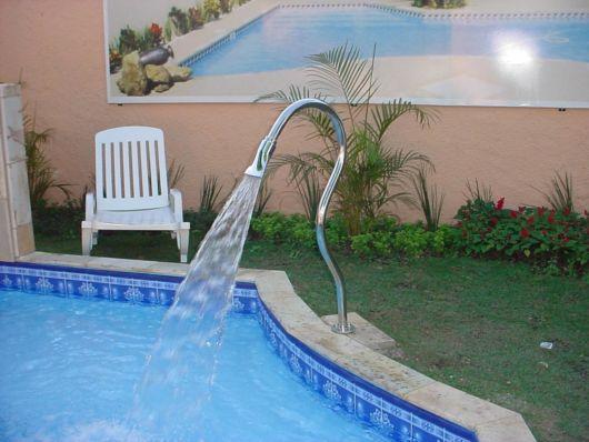 Cascata para piscina ideias e de 50 modelos lindos - Tipo de piscinas ...